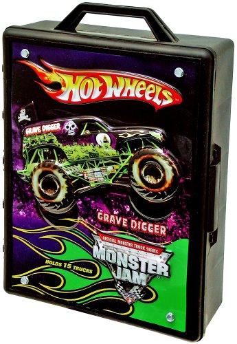 ホットウィール マテル ミニカー ホットウイール 【送料無料】Hot Wheels Monster Jam Carry Case Holds 15 1:64 Scaled Hot Wheels Vehiclesホットウィール マテル ミニカー ホットウイール