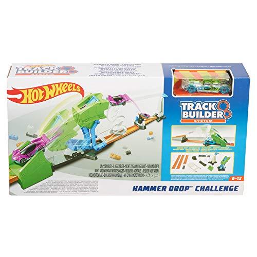 ホットウィール マテル ミニカー ホットウイール 【送料無料】Hot Wheels Track Builder Hammer Drop Challengeホットウィール マテル ミニカー ホットウイール