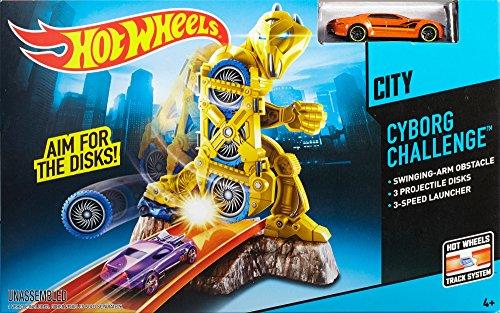 ホットウィール マテル ミニカー ホットウイール Hot Wheels Cyborg Challenge Track Setホットウィール マテル ミニカー ホットウイール