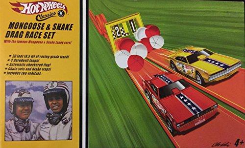ホットウィール マテル ミニカー ホットウイール 【送料無料】Hot Wheels Classics Mongoose & Snake Drag Race Setホットウィール マテル ミニカー ホットウイール