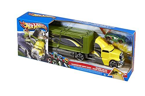 ホットウィール マテル ミニカー ホットウイール Hot Wheels Crashing Big Rigs Playsetホットウィール マテル ミニカー ホットウイール