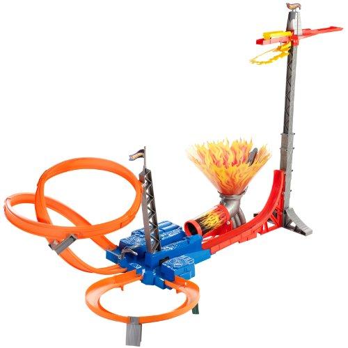 ホットウィール マテル ミニカー ホットウイール 【送料無料】Hot Wheels Sky Jump Track Setホットウィール マテル ミニカー ホットウイール