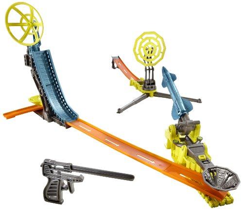 ホットウィール マテル ミニカー ホットウイール 【送料無料】Hot Wheels Trick Tracks Radar Rocket Starter Setホットウィール マテル ミニカー ホットウイール
