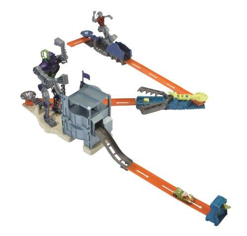 ホットウィール マテル ミニカー ホットウイール 【送料無料】Hot Wheels Trick Tracks Bionic Battle Setsホットウィール マテル ミニカー ホットウイール