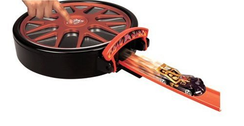 ホットウィール マテル ミニカー ホットウイール 【送料無料】Hot Wheels Speed Racer Carrying Case Launcher with car (colors may vary)ホットウィール マテル ミニカー ホットウイール