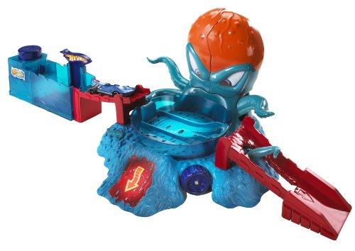 ホットウィール マテル ミニカー ホットウイール 【送料無料】Hot Wheels Color Shifters OctoBattle Playsetホットウィール マテル ミニカー ホットウイール