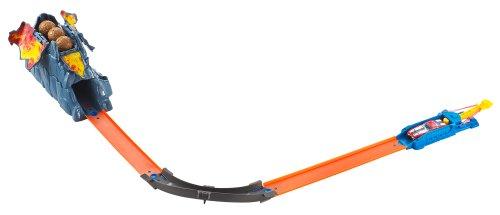 ホットウィール マテル ミニカー ホットウイール 【送料無料】Hot Wheels Track Builder Volcano Blowout Stunt Setホットウィール マテル ミニカー ホットウイール