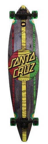 ロングスケートボード スケボー 海外モデル 直輸入 11112015 Santa Cruz Skate Mahaka Rasta Cruzer Skateboard (9.9 x 43.5-Inch)ロングスケートボード スケボー 海外モデル 直輸入 11112015