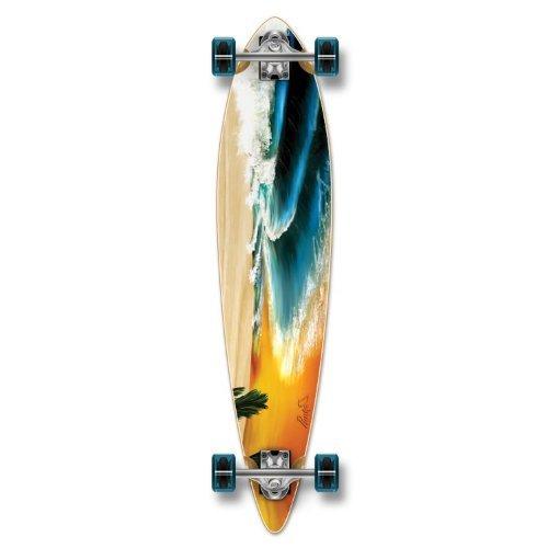 ロングスケートボード スケボー 海外モデル 直輸入 Yocaher Beach Series Complete Pintail Skateboards Longboard Cruiser w/Black Widow Premium 80A Grip Tape Aluminum Truck ABEC7 Bearing 70mm Skateboard Wheelロングスケートボード スケボー 海外モデル 直輸入