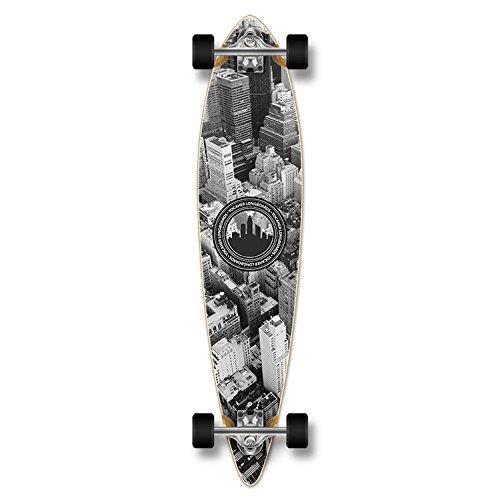 ロングスケートボード スケボー 海外モデル 直輸入 Special Graphic Complete Longboard PINTAIL skateboard w/ 70mm wheels (New York)ロングスケートボード スケボー 海外モデル 直輸入