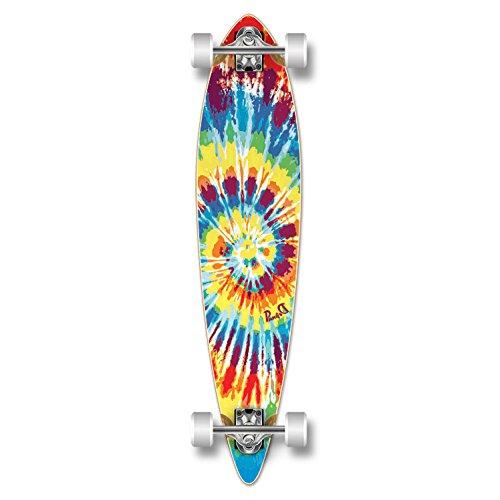 ロングスケートボード スケボー 海外モデル 直輸入 Yocaher Special Graphic Complete Longboard PINTAIL skateboard w/ 70mm wheels (Tiedye Original)ロングスケートボード スケボー 海外モデル 直輸入