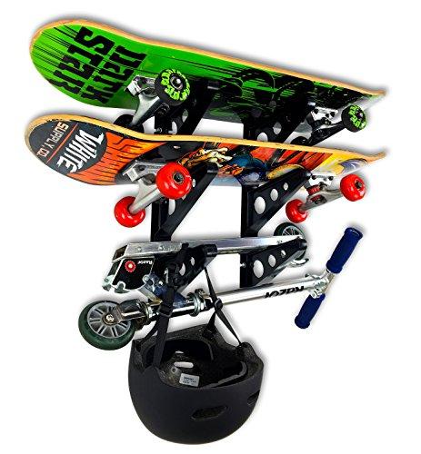 バックパック スケボー スケートボード 海外モデル 直輸入 FBA_SYB-DKSkate 【送料無料】StoreYourBoard Skateboard Rack - 3 Boardsバックパック スケボー スケートボード 海外モデル 直輸入 FBA_SYB-DKSkate