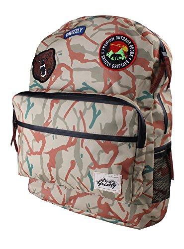 バックパック スケボー スケートボード 海外モデル 直輸入 Grizzly Griptape Grizzly Outdoor Goods Backpack TAN CAMOバックパック スケボー スケートボード 海外モデル 直輸入