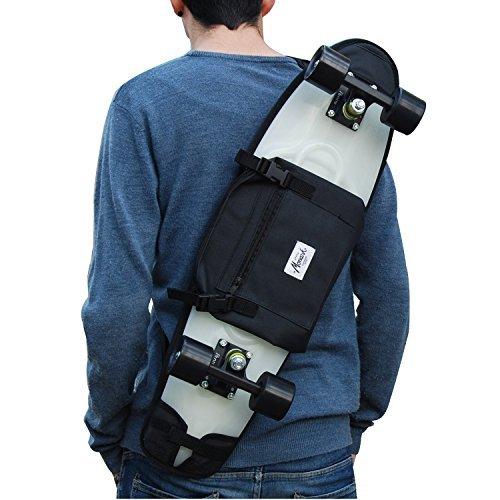 バックパック スケボー スケートボード 海外モデル 直輸入 SKATE HOME Backpack, Shoulder Bag 26 27 inches Cruiser Skateboard. Blackバックパック スケボー スケートボード 海外モデル 直輸入