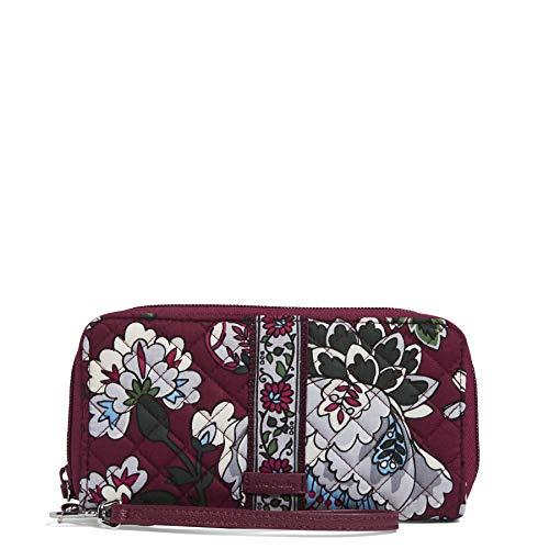 ヴェラブラッドリー ベラブラッドリー アメリカ 日本未発売 財布 【送料無料】Vera Bradley Iconic RFID Riley Compact Wallet, Signature Cotton, One Sizeヴェラブラッドリー ベラブラッドリー アメリカ 日本未発売 財布