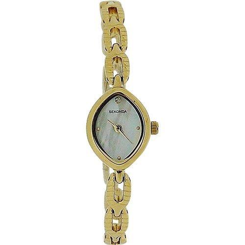 セコンダ イギリス 腕時計 レディース Sekonda Ladies Analogue Mother Of Pearl Dial Gold Tone Bracelet Strap Watch 4289セコンダ イギリス 腕時計 レディース