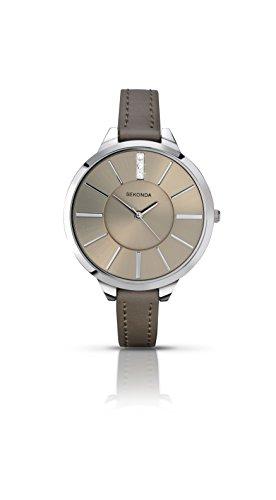 腕時計 セコンダ イギリス レディース 【送料無料】Sekonda Editions Grey Dial Grey Strap Ladies Watch 2251腕時計 セコンダ イギリス レディース