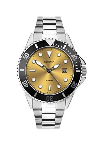 腕時計 セコンダ イギリス メンズ 【送料無料】Sekonda Mens Bracelet Sports Watch 1620腕時計 セコンダ イギリス メンズ