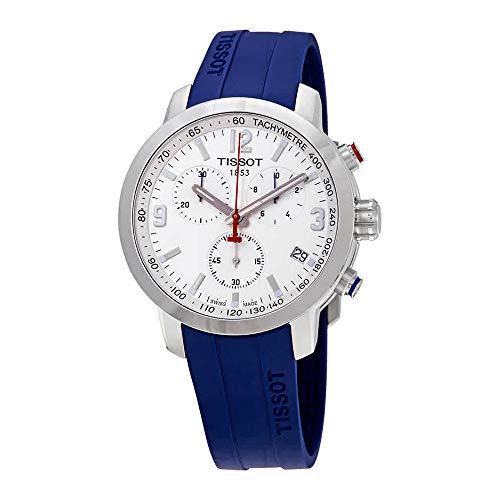 ティソ 腕時計 メンズ 【送料無料】Tissot PRC 200 Chronograph Quartz White Dial Men's Watch T055.417.17.017.03ティソ 腕時計 メンズ