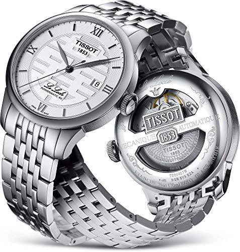 腕時計 ティソ メンズ 【送料無料】Tissot Le Locle Double Happiness Automatic Silver Dial Men's Watch T006.407.11.033.01腕時計 ティソ メンズ