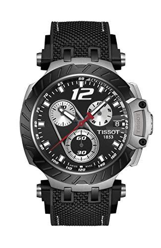 ティソ 腕時計 メンズ 【送料無料】Tissot T-Race Jorge Lorenzo 2019 Limited Edition Black Chronograph Watch T115.417.27.057.00ティソ 腕時計 メンズ