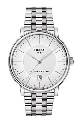 腕時計 ティソ メンズ 【送料無料】Tissot Carson T122.407.11.031.00 Powermatic 80 Stainless Steel Watch腕時計 ティソ メンズ