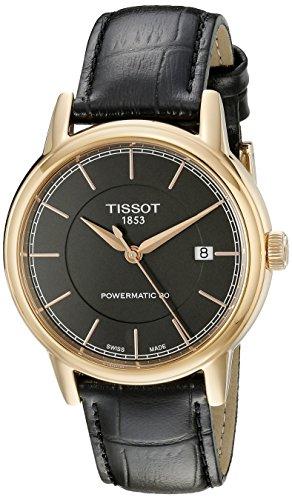 ティソ 腕時計 メンズ 【送料無料】Tissot Men's T0854073606100 Analog Display Swiss Automatic Black Watchティソ 腕時計 メンズ