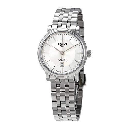 ティソ 腕時計 レディース Tissot Carson Automatic Stainless Steel Ladies Watch T122.207.11.031.00ティソ 腕時計 レディース