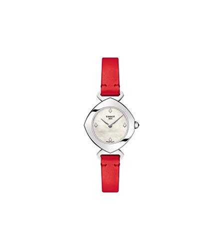 ティソ 腕時計 レディース 【送料無料】Tissot Femini-T Mother of Pearl Dial Ladies Watch T113.109.16.116.00ティソ 腕時計 レディース