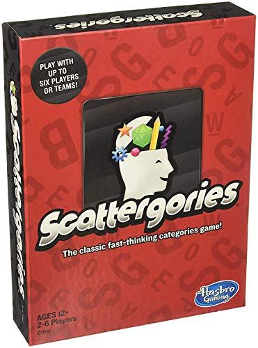 ボードゲーム 英語 アメリカ 海外ゲーム 【送料無料】Scattergories Gameボードゲーム 英語 アメリカ 海外ゲーム