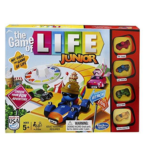 ボードゲーム 英語 アメリカ 海外ゲーム 【送料無料】Hasbro Gaming The Game of Life Junior Gameボードゲーム 英語 アメリカ 海外ゲーム