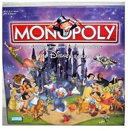 ボードゲーム 英語 アメリカ 海外ゲーム 【送料無料】The Disney Edition Monopoly Board Game 2001ボードゲーム 英語 アメリカ 海外ゲーム