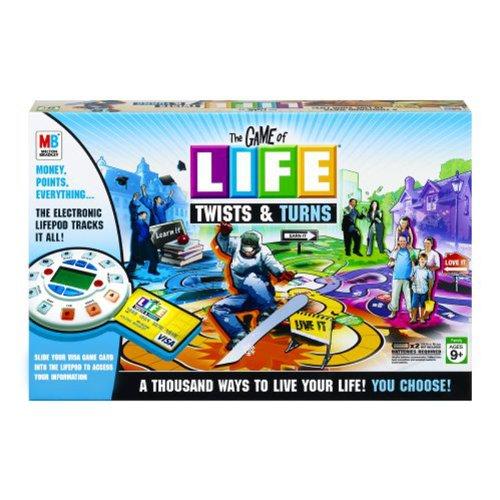 ボードゲーム 英語 アメリカ 海外ゲーム The Game of Life Twists & Turnsボードゲーム 英語 アメリカ 海外ゲーム