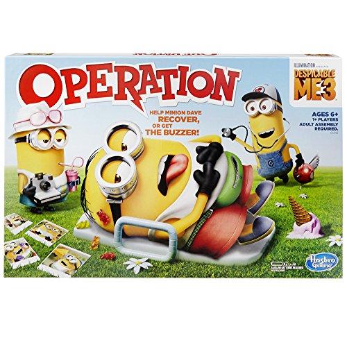 ボードゲーム 英語 アメリカ 海外ゲーム 【送料無料】Despicable Me 3 Edition Operation gameボードゲーム 英語 アメリカ 海外ゲーム