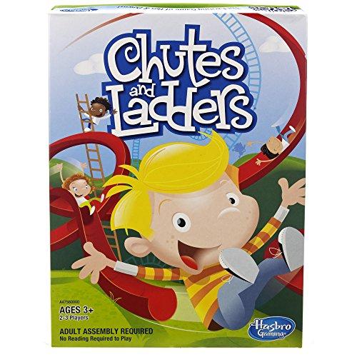 ボードゲーム 英語 アメリカ 海外ゲーム Hasbro Chutes and Laddersボードゲーム 英語 アメリカ 海外ゲーム