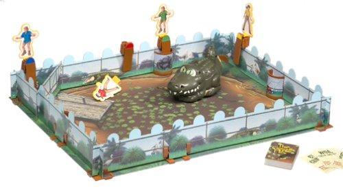 ボードゲーム 英語 アメリカ 海外ゲーム 【送料無料】The Crocodile Hunter Gameボードゲーム 英語 アメリカ 海外ゲーム