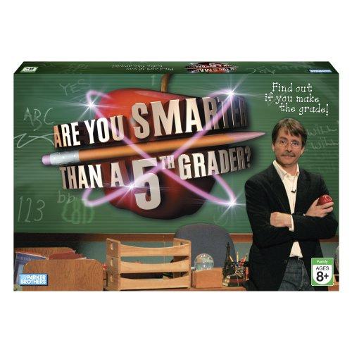 ボードゲーム 英語 アメリカ 海外ゲーム 【送料無料】Hasbro are You Smarter Than A 5th Grader? Gameボードゲーム 英語 アメリカ 海外ゲーム
