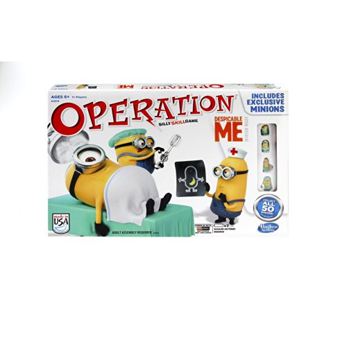 ボードゲーム 英語 アメリカ 海外ゲーム 【送料無料】Operation Despicable Me Silly Skill Gameボードゲーム 英語 アメリカ 海外ゲーム