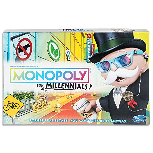 ボードゲーム 英語 アメリカ 海外ゲーム 【送料無料】Monopoly for Millennials Board Gameボードゲーム 英語 アメリカ 海外ゲーム