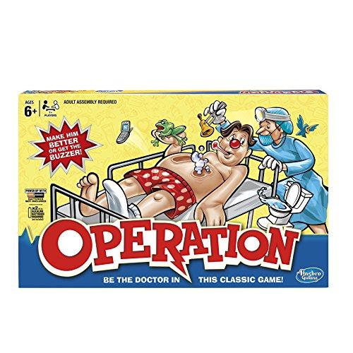 ボードゲーム 英語 アメリカ 海外ゲーム 【送料無料】Hasbro Hasbro Operation Gameボードゲーム 英語 アメリカ 海外ゲーム