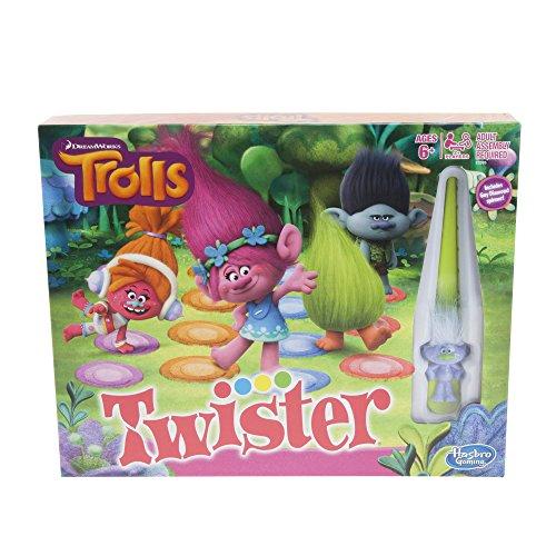 好評 ボードゲーム 英語 アメリカ 海外ゲーム 【送料無料】Hasbro Gaming Twister Game: DreamWorks Trolls Editionボードゲーム 英語 アメリカ 海外ゲーム, あんどんや c730953e