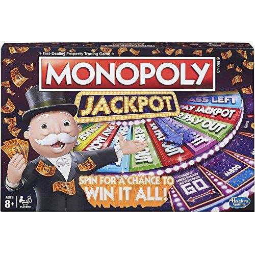 ボードゲーム 英語 アメリカ 海外ゲーム Hasbro Monopoly Jackpot Board Gameボードゲーム 英語 アメリカ 海外ゲーム