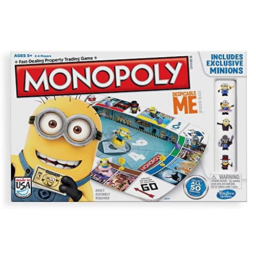 ボードゲーム 英語 アメリカ 海外ゲーム 【送料無料】Hasbro Gaming Monopoly Game Despicable Me Editionボードゲーム 英語 アメリカ 海外ゲーム