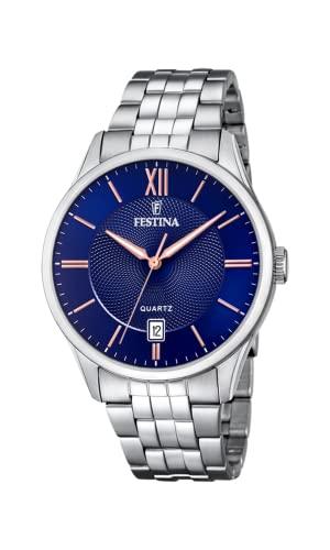 腕時計 フェスティナ フェスティーナ スイス メンズ 【送料無料】Festina Mens Analogue Quartz Watch with Stainless Steel Strap F20425/5腕時計 フェスティナ フェスティーナ スイス メンズ