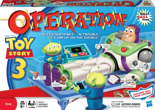 ボードゲーム 英語 アメリカ 海外ゲーム Toy Story 3 Operation Buzz Lightyearボードゲーム 英語 アメリカ 海外ゲーム