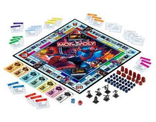 ボードゲーム 英語 アメリカ 海外ゲーム 【送料無料】Monopoly: Spider-Manボードゲーム 英語 アメリカ 海外ゲーム