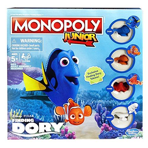 ボードゲーム 英語 アメリカ 海外ゲーム 【送料無料】Monopoly Junior: Disney/Pixar Finding Dory Editionボードゲーム 英語 アメリカ 海外ゲーム