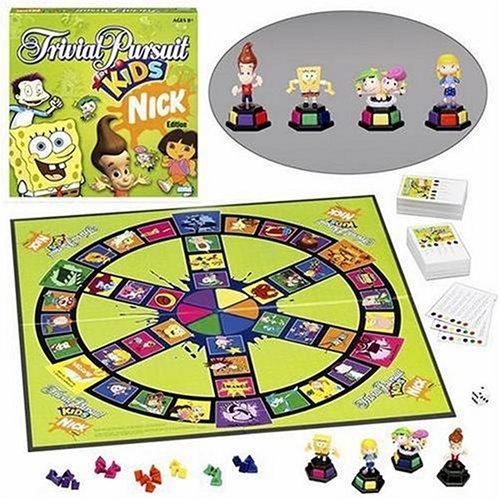 ボードゲーム 英語 アメリカ 海外ゲーム 【送料無料】Trivial Pursuit For Kids Nickelodeon Editionボードゲーム 英語 アメリカ 海外ゲーム