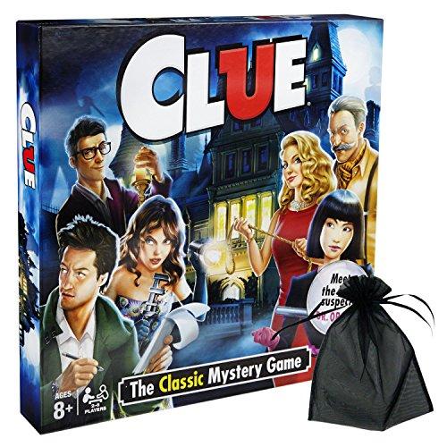 ボードゲーム 英語 アメリカ 海外ゲーム 【送料無料】Hasbro Clue w/Free Storage Bagボードゲーム 英語 アメリカ 海外ゲーム