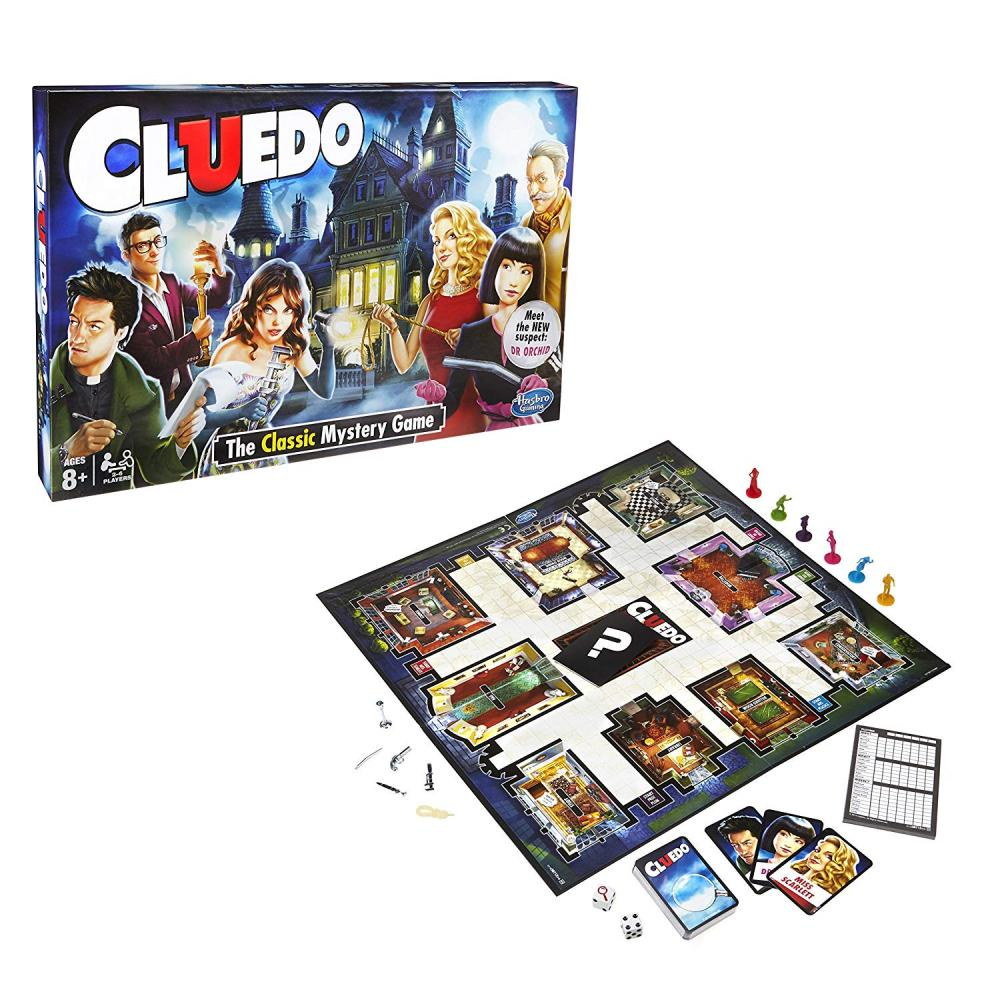 2 Players 8 Years Cluedo The Classic Mystery Board Game Hasbro